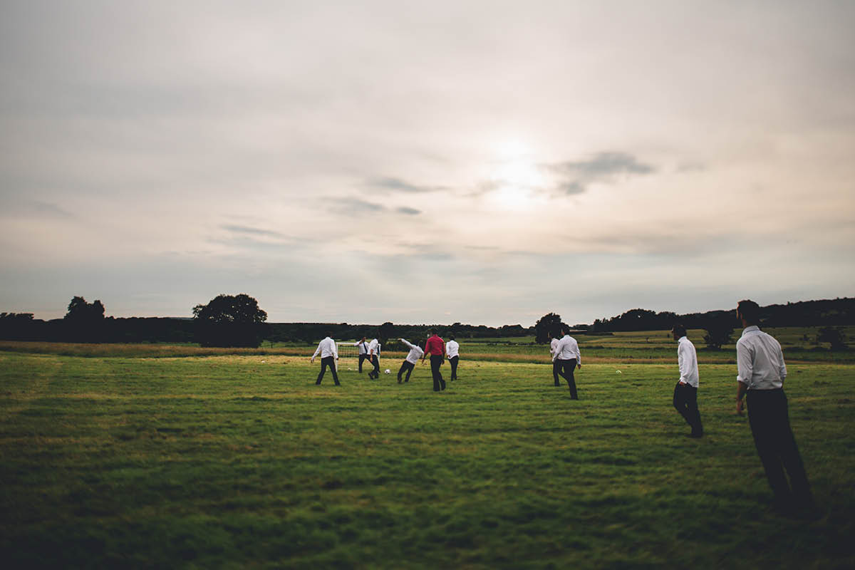 Festival Wedding Photographer - Five a Side