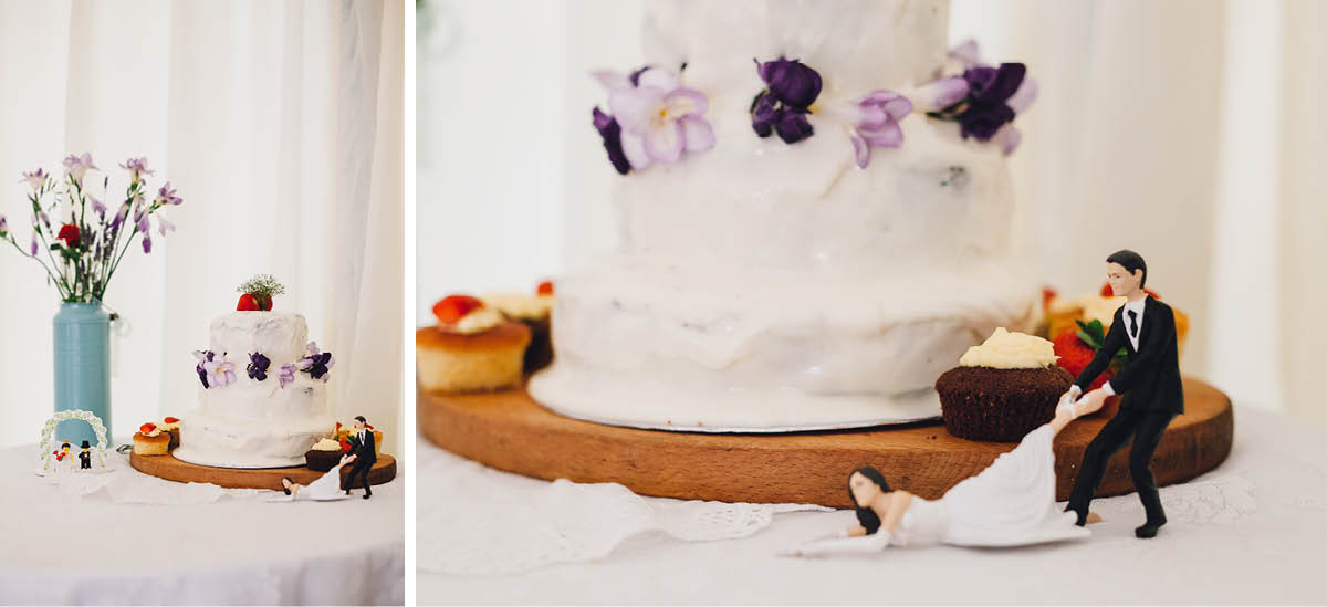 Festival Wedding Photographer - Cake