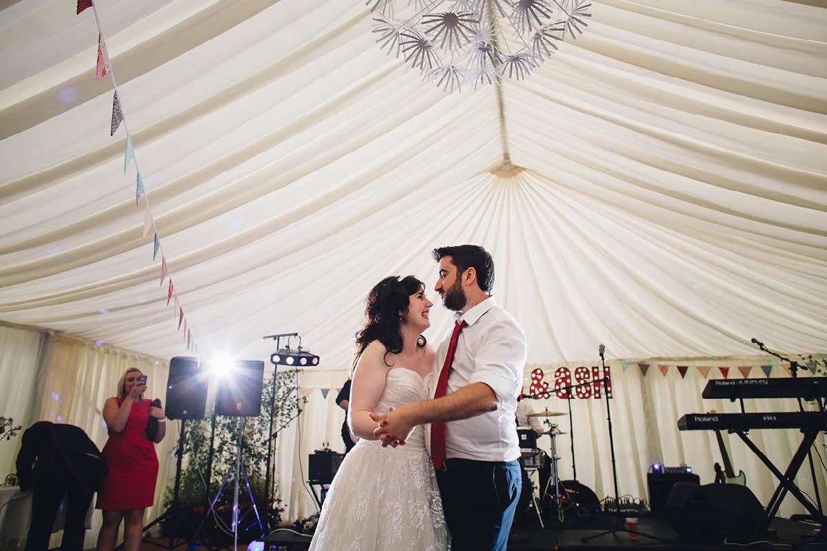 Festival Wedding Photographer - First Dance