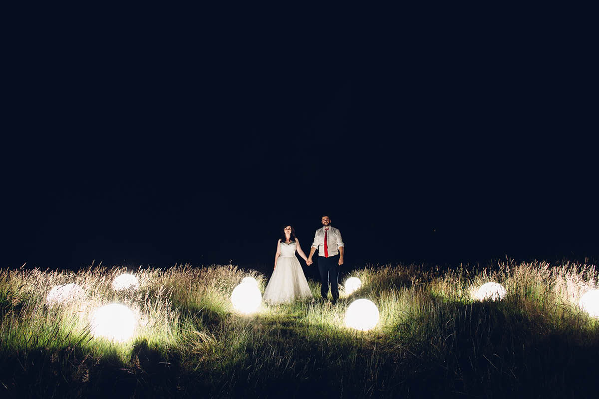 Festival Wedding Photographer - Night Shot