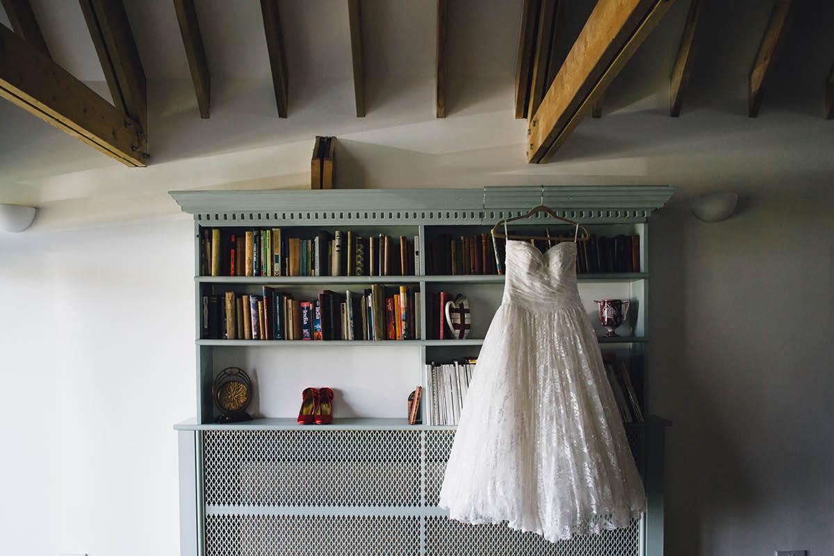Festival Wedding Photographer - Wedding Dress