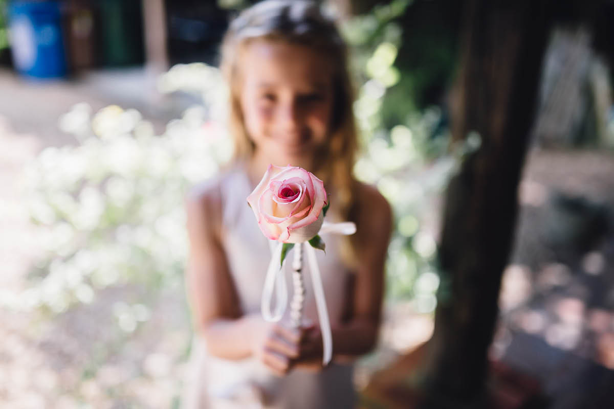 Mill House Hotel Wedding Flower Girl