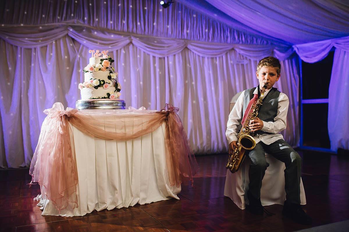 Mill House Hotel Wedding Sax