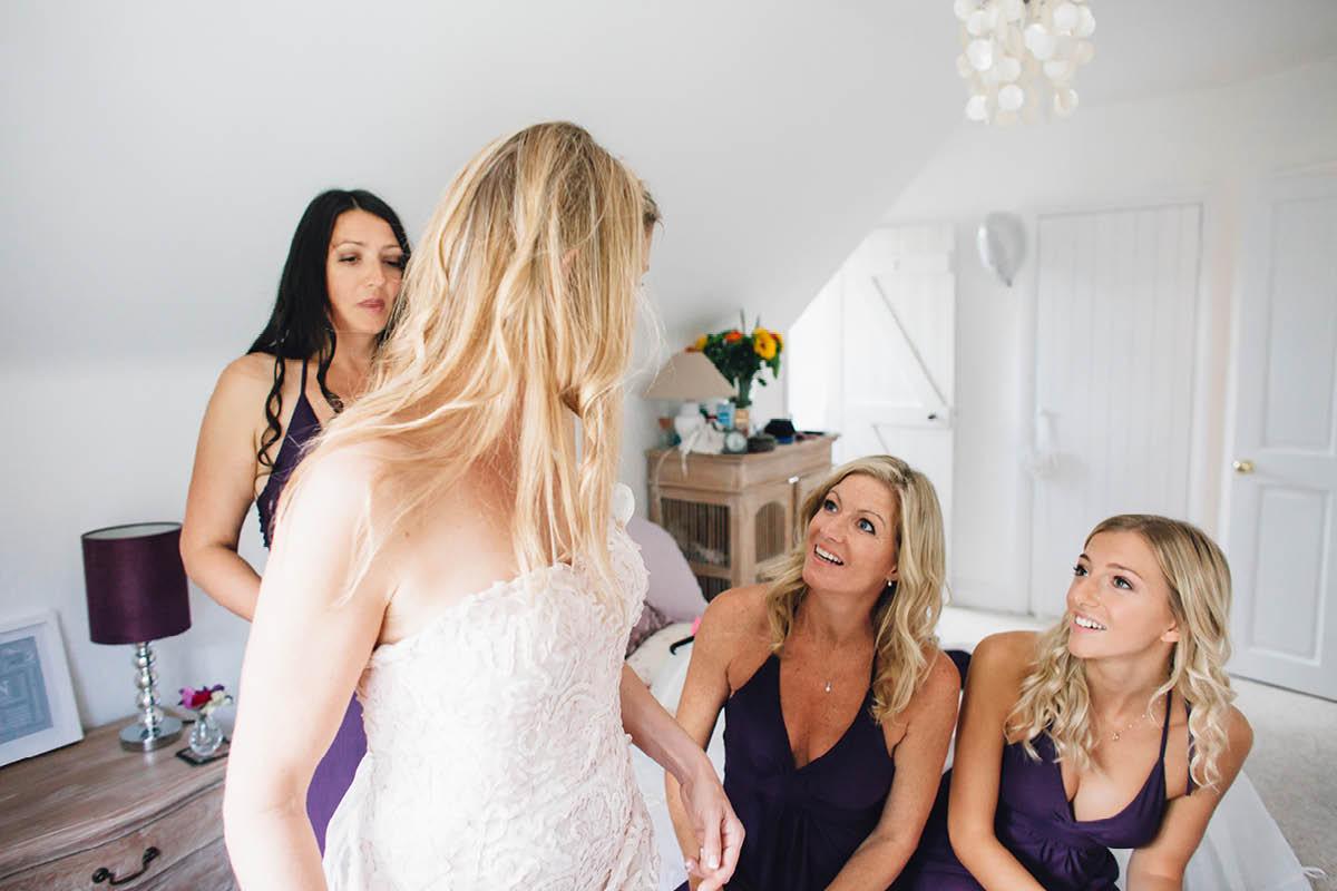 Mill House Hotel Wedding Getting Ready