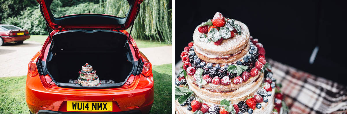 Parley Manor Wedding - wedding cake