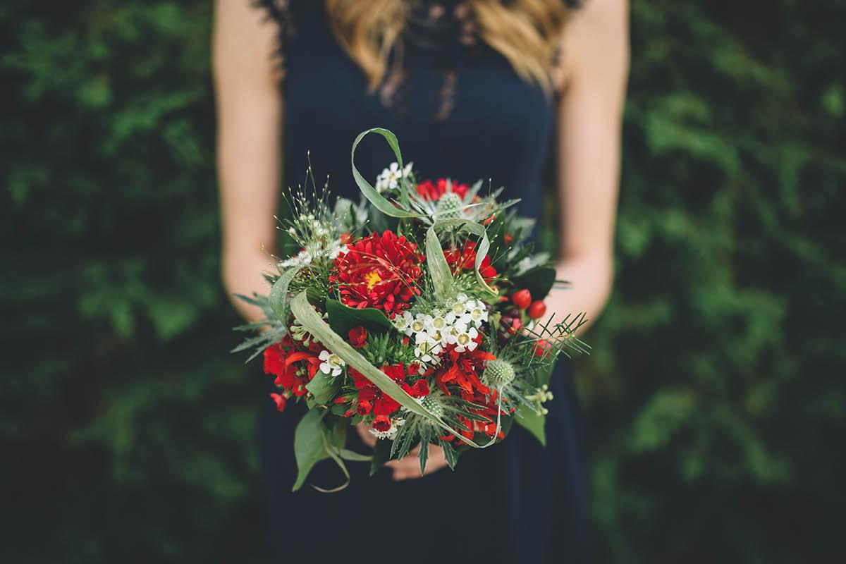 Parley Manor Wedding - Bridesmaids Bouquet
