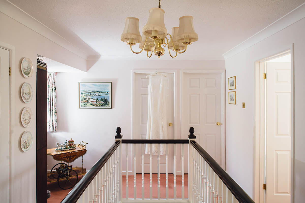 Parley Manor Wedding - Prep