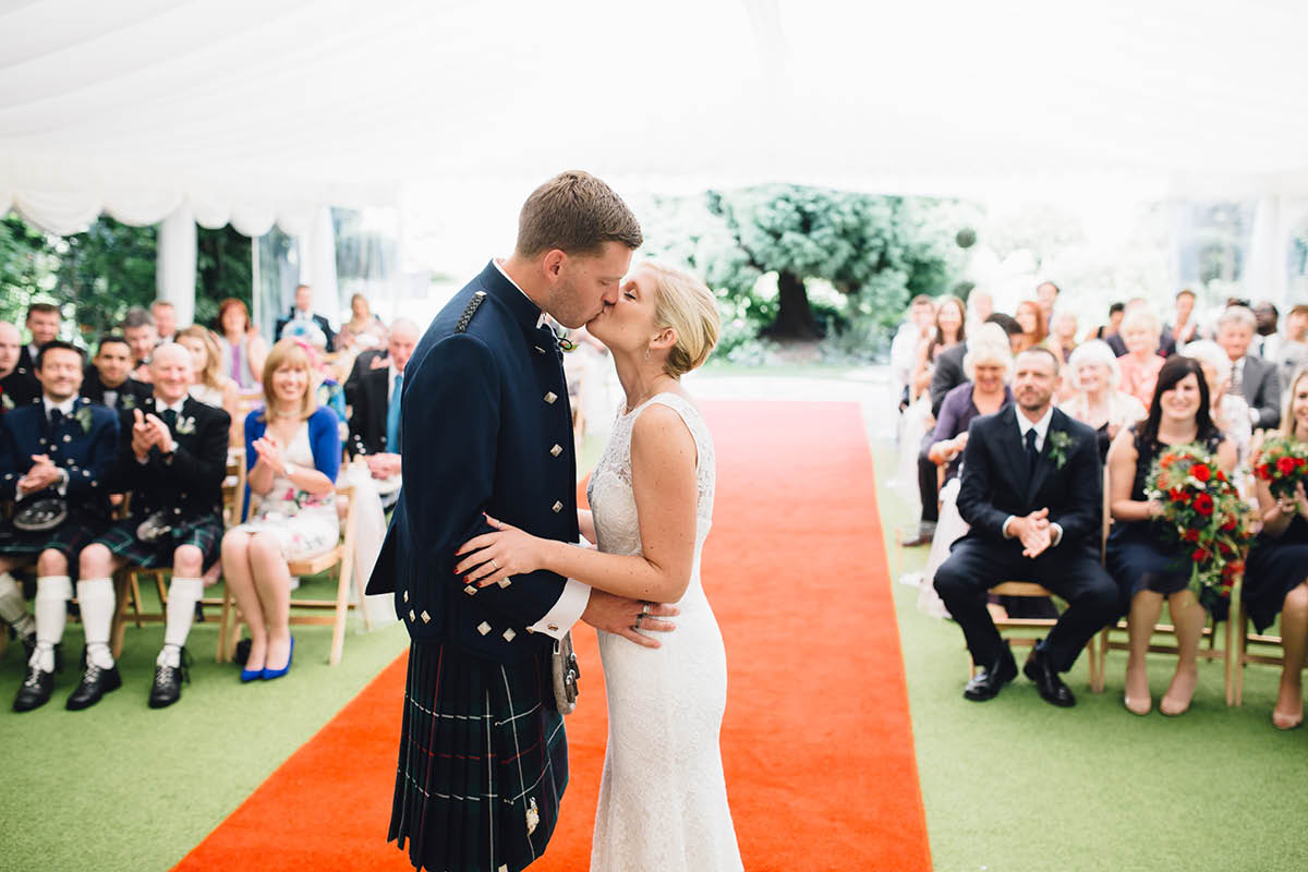 Parley Manor Wedding - Ceremony
