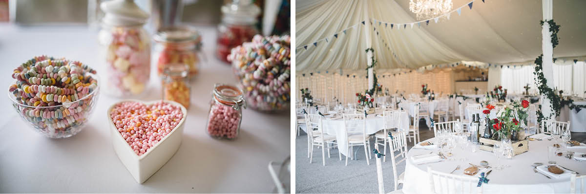 Parley Manor Wedding - Wedding Breakfast Details