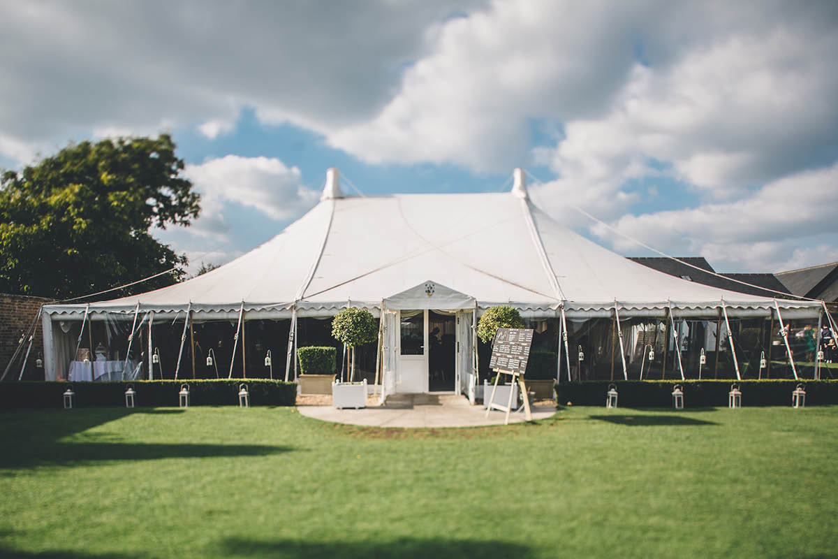 Parley Manor Wedding - Parley Manor Marquee