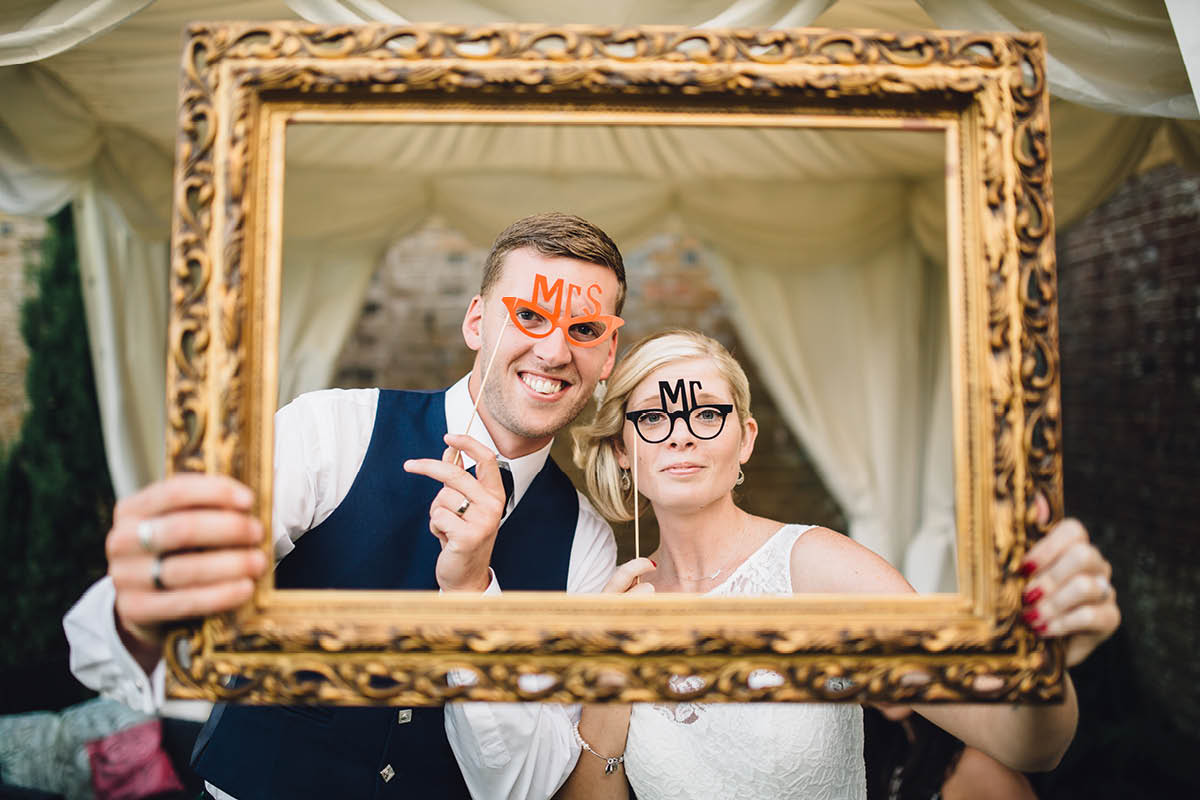 Parley Manor Wedding - Mr and Mrs