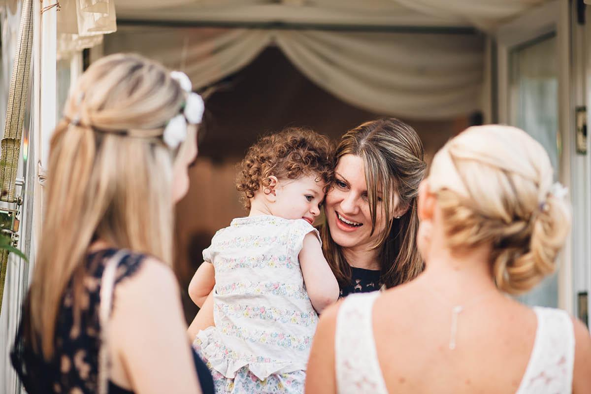 Parley Manor Wedding - Candids