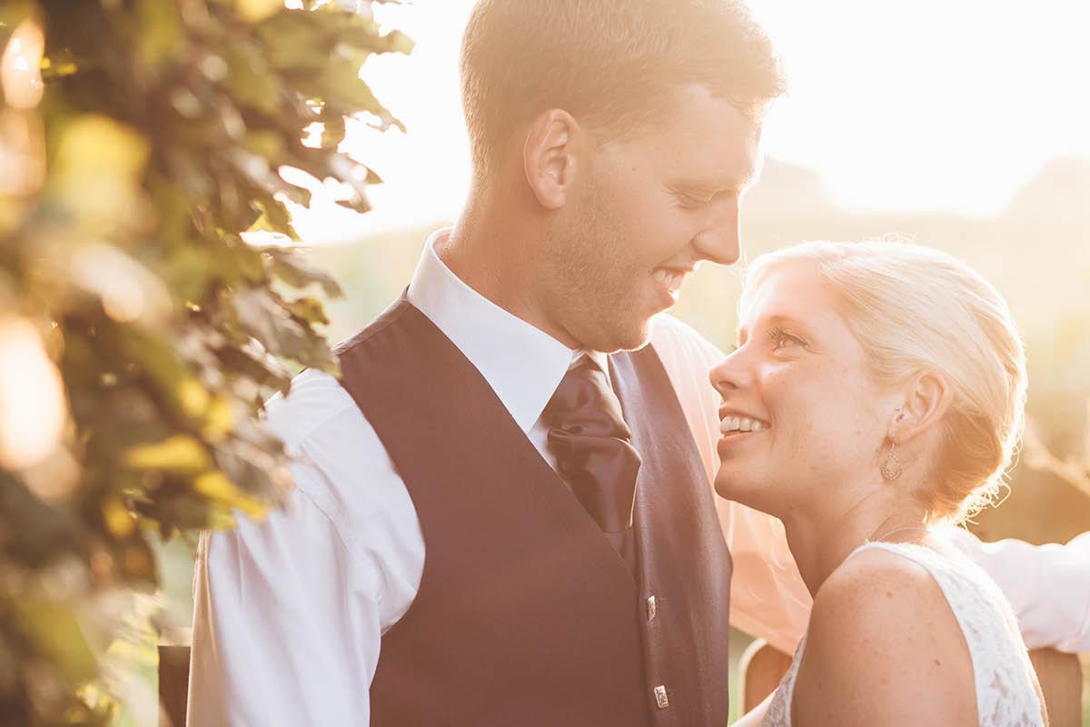 Parley Manor Wedding - Sunset Portraits