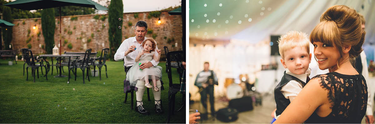 Parley Manor Wedding - families