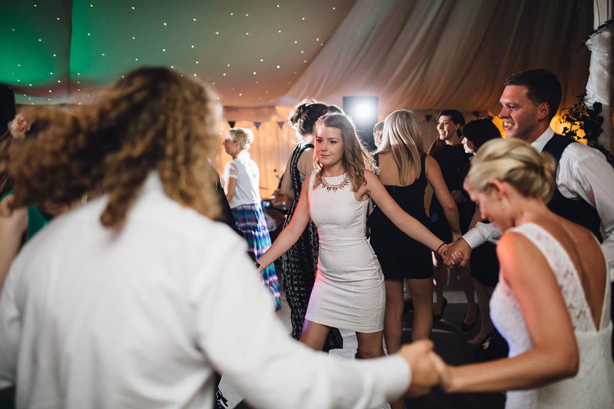 Parley Manor Wedding - wedding ceilidh