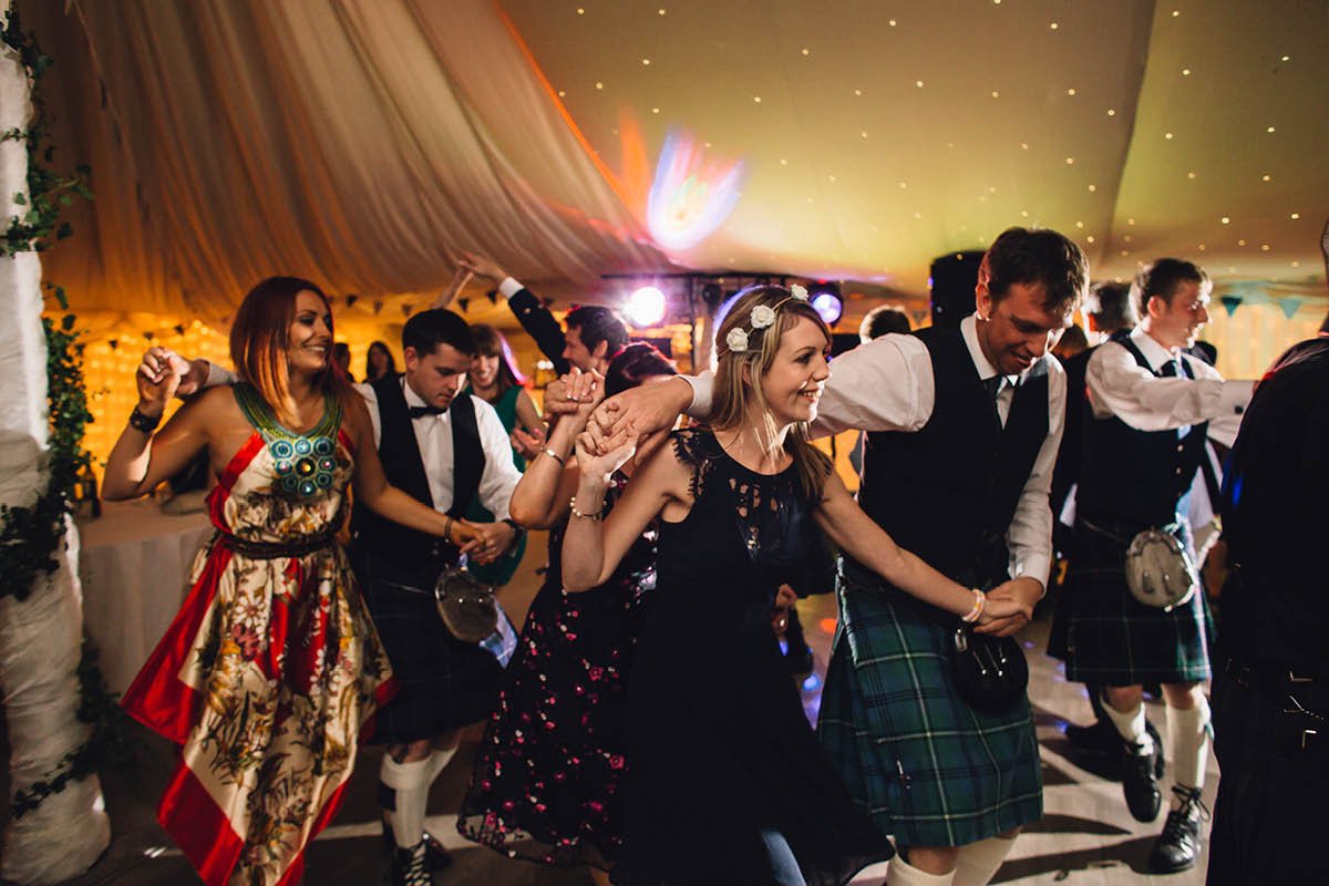Parley Manor Wedding - wedding ceilidh