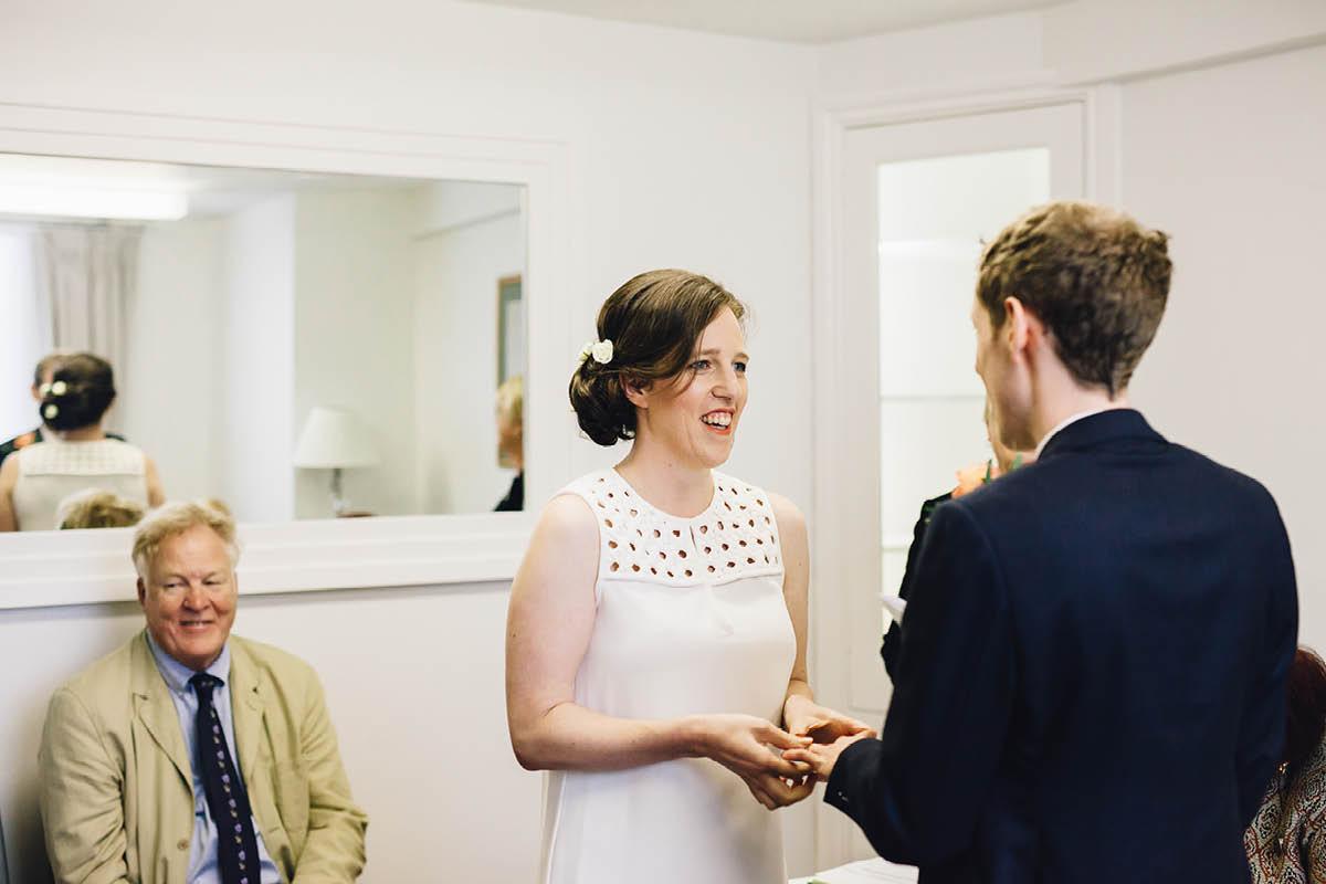 Pig Hotel Brockenhurst Wedding Ceremony