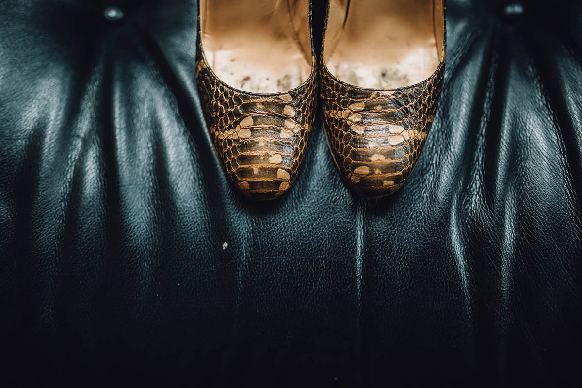 Pig Hotel Brockenhurst Wedding Shoes