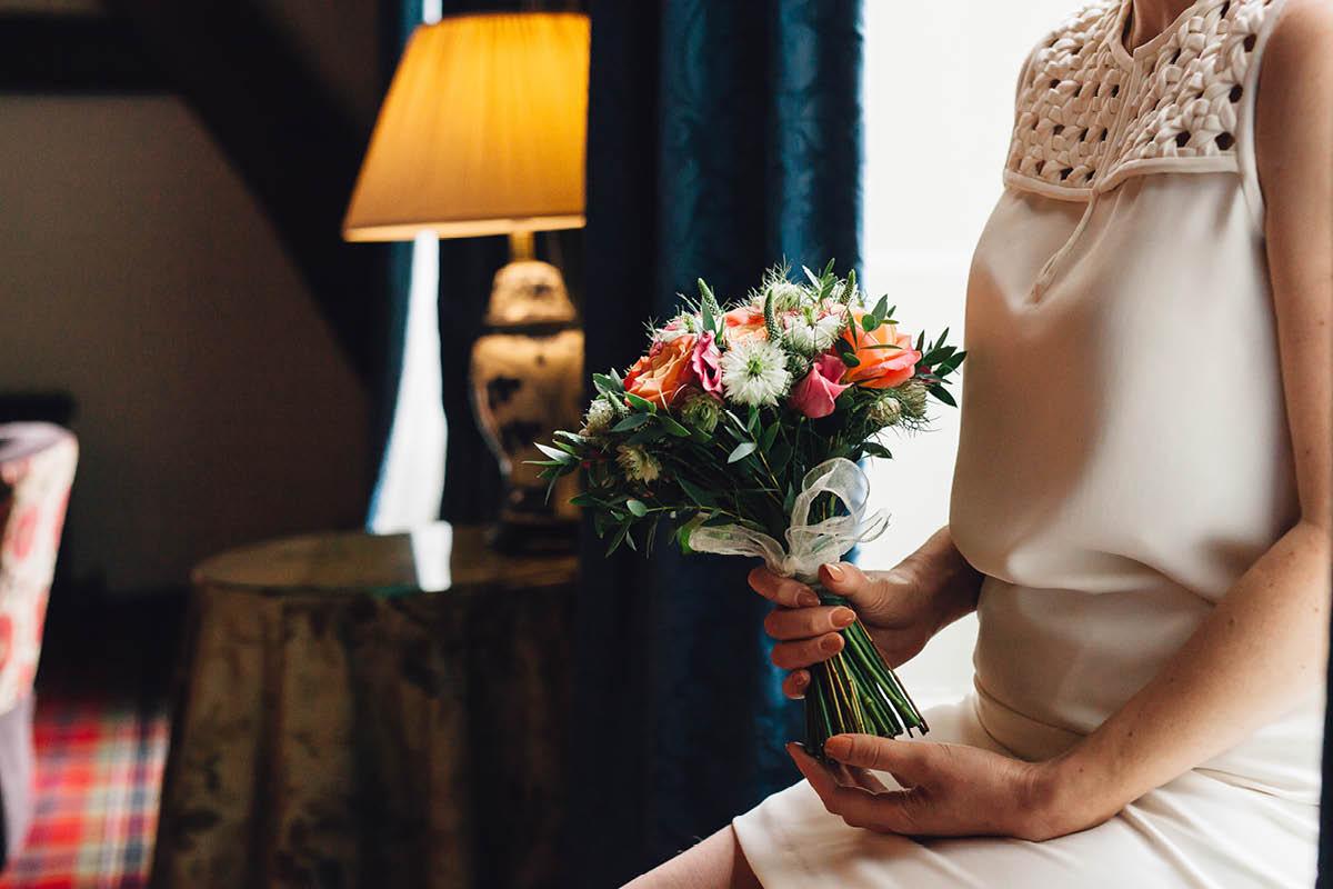 Pig Hotel Brockenhurst Wedding Flowers