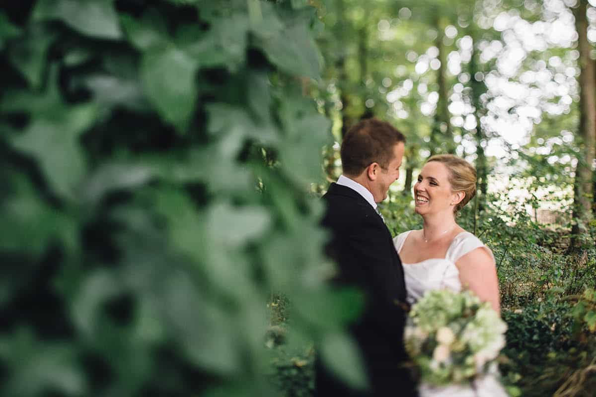 Kingston Country Courtyard Wedding Photographer - Couple together