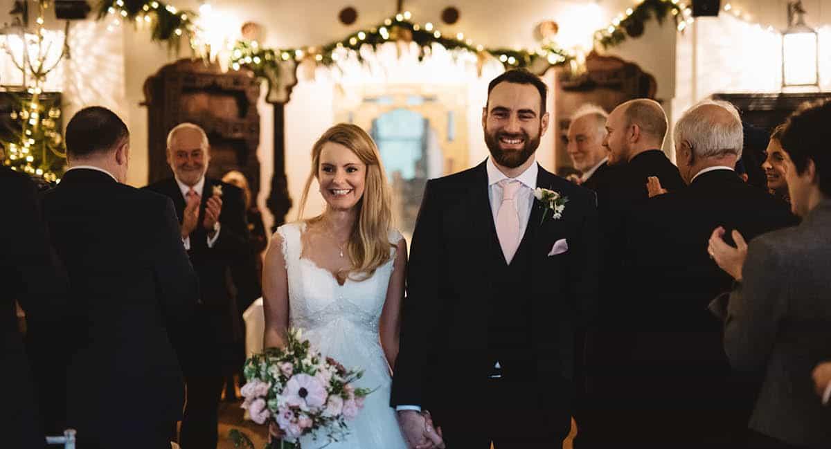 Larmer Tree Winter Wedding - Ceremony
