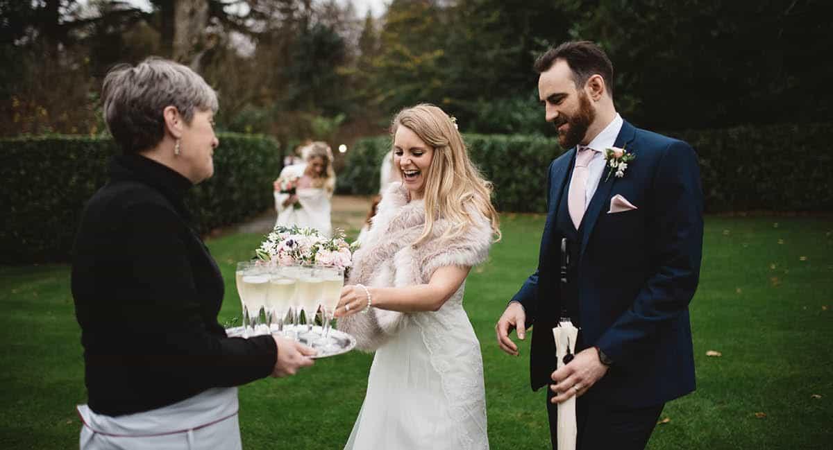 Larmer Tree Winter Wedding - Reception