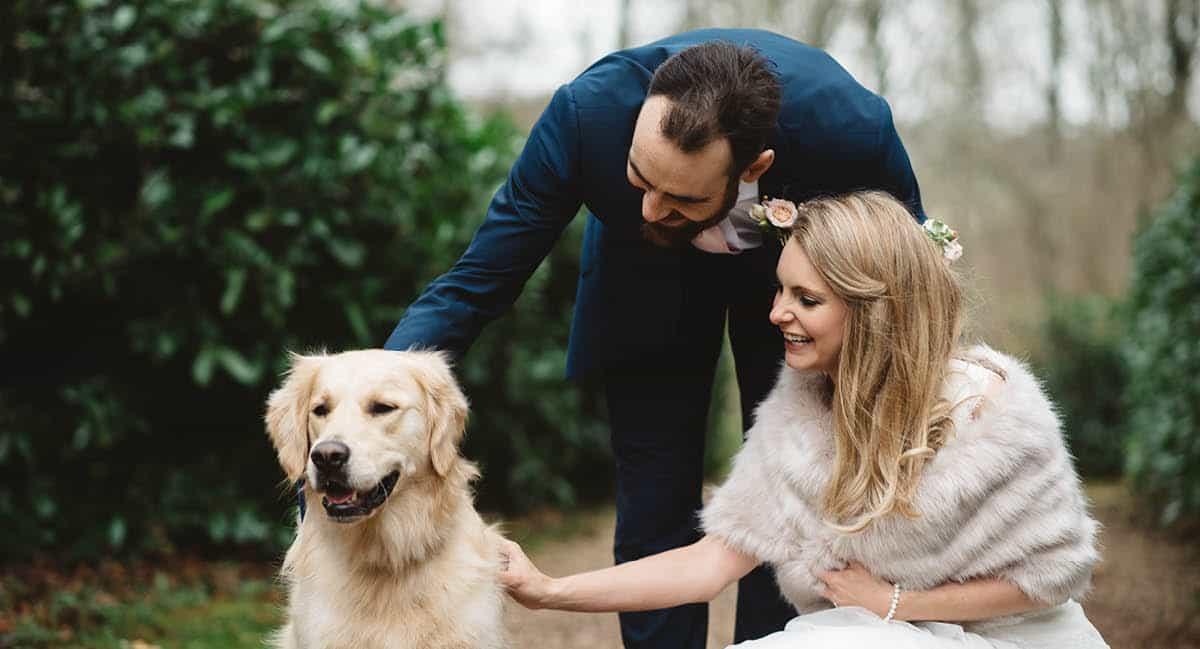 Larmer Tree Winter Wedding - Wedding Puppy