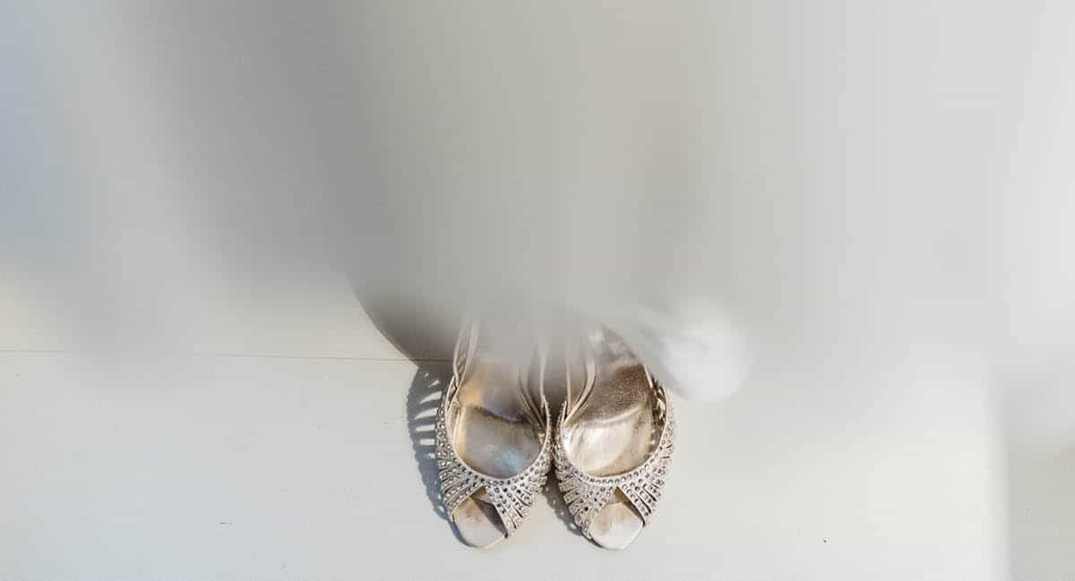 Larmer Tree Winter Wedding - Shoes
