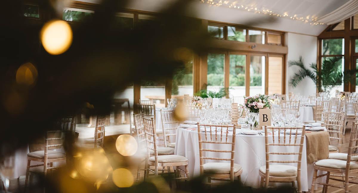 Larmer Tree Winter Wedding - Gardens