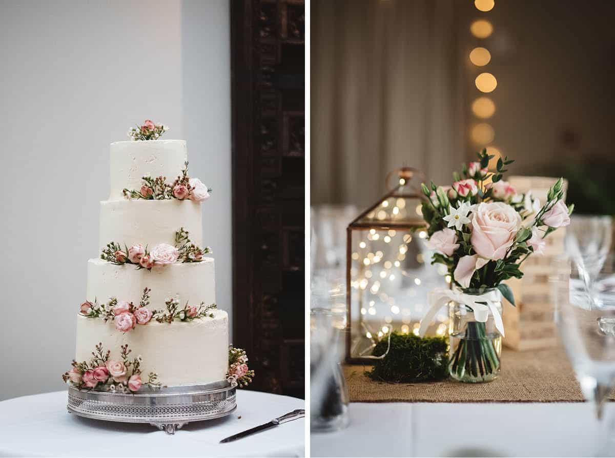 Larmer Tree Winter Wedding - Reception Details