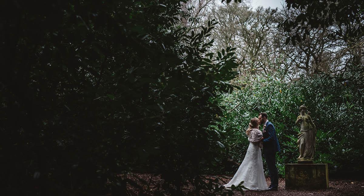 Larmer Tree Winter Wedding - Wedding