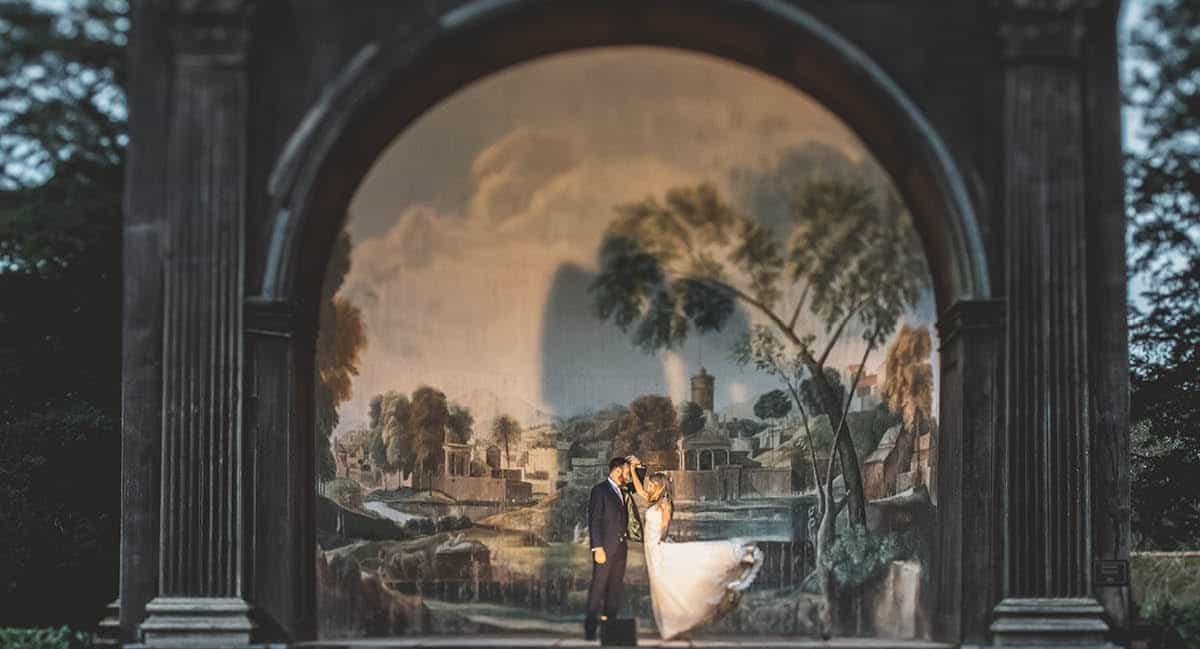Larmer Tree Winter Wedding - photography