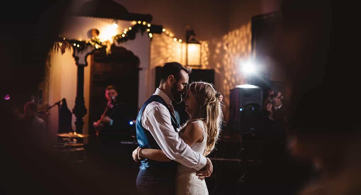 Larmer Tree Winter Wedding - First Dance
