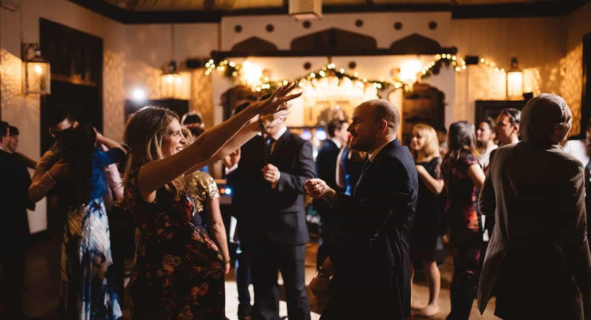 Larmer Tree Winter Wedding - Dance
