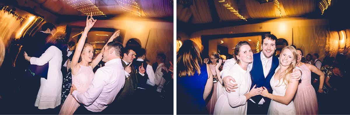Larmer Tree Winter Wedding - Party